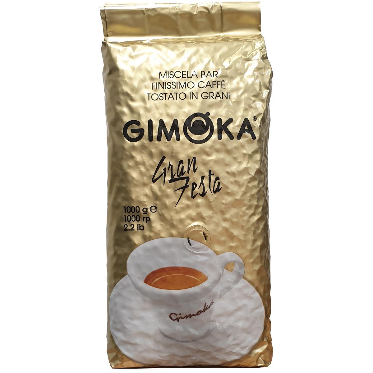 Koffie bestel je hier Gimoka Gran Festa Koffiebonen 1 kilo